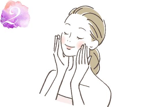炭酸泉マスクの使い方2
